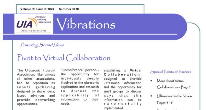 Summer 2020 Vibrations