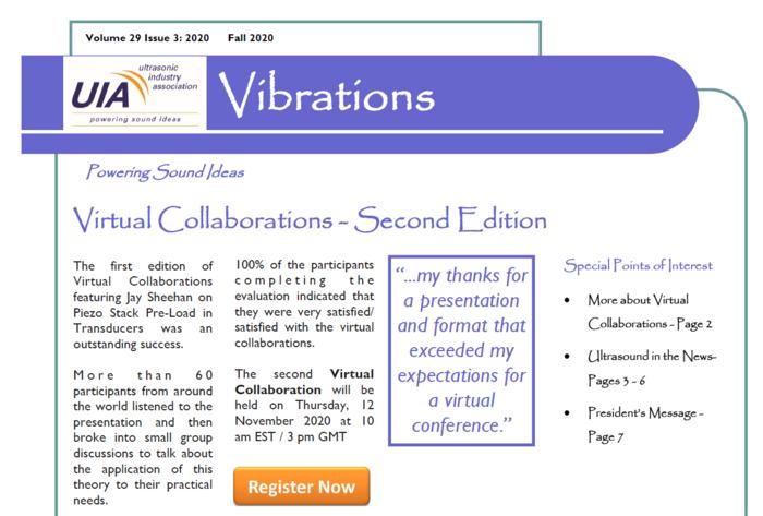 UIA Vibrations Fall 2020